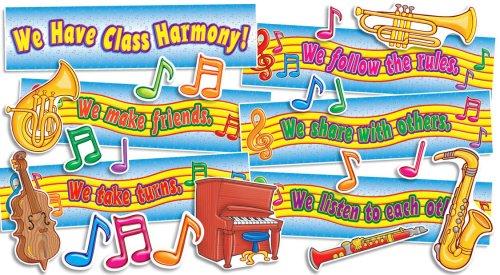 9780545040013: We Have Class Harmony! Mini Bulletin Board
