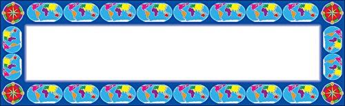 World Map & Compass Multipurpose Cards (9780545041140) by Scholastic