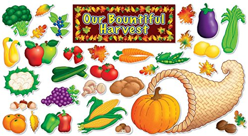 9780545041522: Autumn Harvest Bulletin Board Set: Our Bountiful Harvest