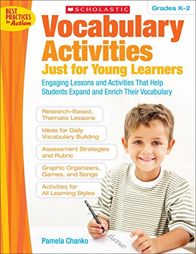 9780545045926: Vocabulary Activities Just for Young Learners, Grades K-2 (Teaching Resources)