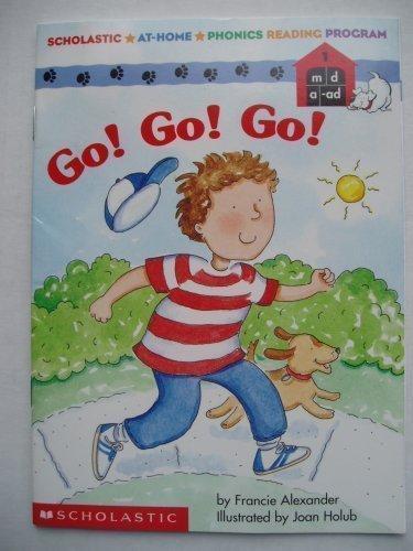 9780545057875: Go! Go! Go! Scholastic At Home Phonics Reading Program