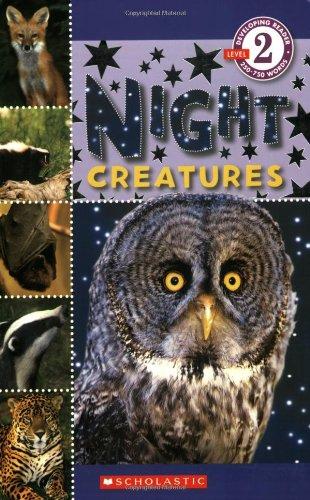 9780545057974: Night Creatures (Scholastic Readers: Level 2)