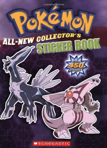 Pokemon: Pokemon All-New Collectors Sticker 9780545065894 Gotta read 'em all! Ready to catch 'em all? Now you can! Inside, you'll find a sticker for every Pokémon ever: that's all the classic characters, plus the newest Sinnoh Pokémon. Match 'em up with their place in the book and you'll learn some basic info, and maybe even a bonus fact to boost your knowledge. Every sticker puts you one step closer to becoming the world's greatest Pokémon expert. So what are you waiting for? Catch 'em, match 'em, and go!