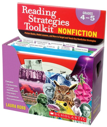 9780545066945: Reading Strategies Toolkit: Nonfiction: Grades 4-5: Picture Books, Model Lessons, and More to Target and Teach Key Nonfiction Strategies