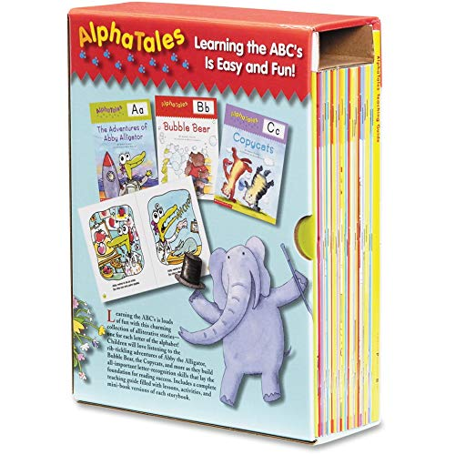 9780545067645: AlphaTales Box Set: A Set of 26 Irresistible Animal Storybooks That Build Phonemic Awareness & Teach Each letter of the Alphabet