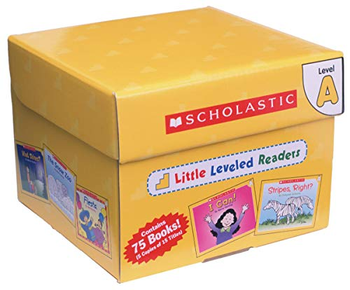 9780545067690: Little Leveled Readers: Level A Box Set: Just the Right Level to Help Young Readers Soar!