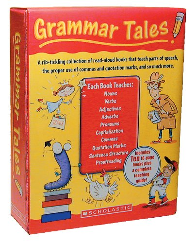 9780545067706: Grammar Tales Box Set: A Rib-Tickling Collection of Read-Aloud Books That Teach 10 Essential Rules of Usage and Mechanics