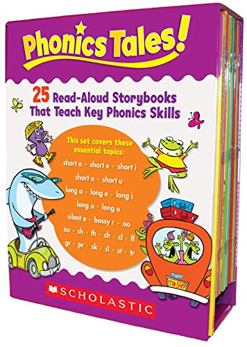 9780545067713: Phonics Tales: 25 Read-Aloud Storybooks That Teach Key Phonics Skills [With Teacher's Guide]