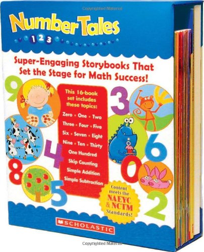 9780545067737: Number Tales Box Set: Super-Engaging Storybooks that Set the Stage for Math Success