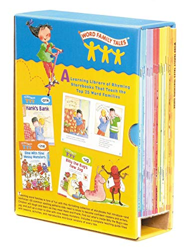 9780545067744: Word Family Tales Box Set: A Series of 25 Books and a Teaching Guide