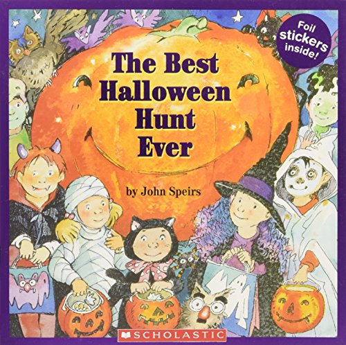 9780545068673: The Best Halloween Hunt Ever [With Stickers]