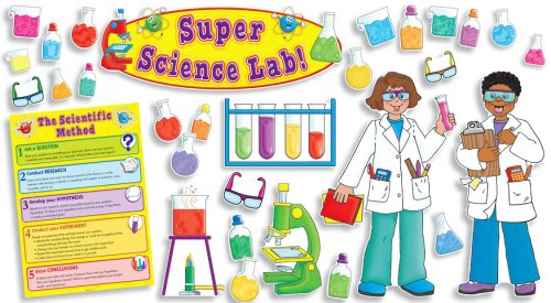 9780545068789: Super Science Lab Bulletin Board