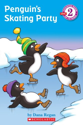 9780545070805: Penguin's Skating Party (Developing Reader Level 2)