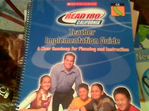 9780545070874: Teacher Implementation Guide (Read 180 California)