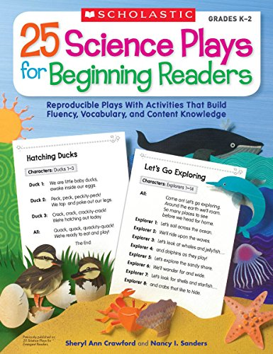 9780545072687: 25 Science Plays for Beginning Readers: Reproducible Plays  With Activities That Build Fluency, Vocabulary, and Content Knowledge -  AbeBooks - Crawford, Sheryl; Sanders, Nancy: 0545072689