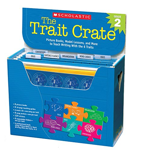 9780545074728: The Trait Crate(r) Grade 2: Picture Books, Model Lessons, and More to Teach Writing with the 6 Traits