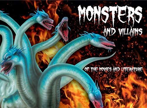 9780545079389: Monsters and Villains of the Movies and Literature