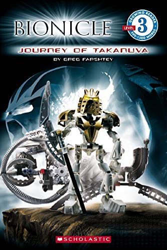 9780545082143: Journey of Takanuva (Bionicla Growing Reader, Level 3)