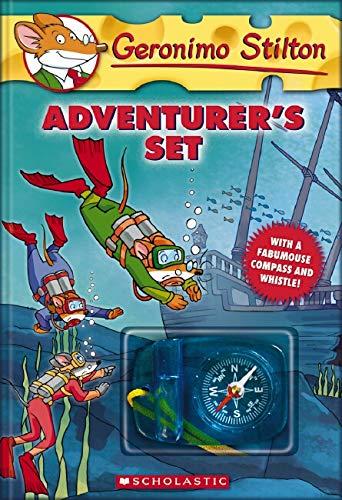 9780545084949: Geronimo Stilton Adventurer's Boxed Set