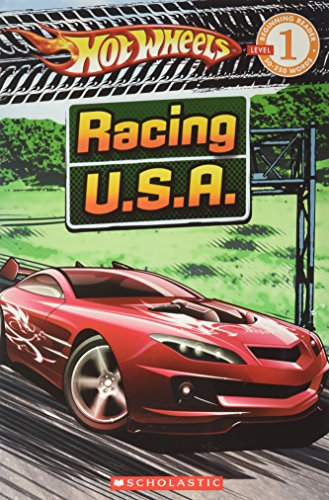 9780545085052: Hot Wheels Racing U.S.A. (Learning Reader, Level 1)