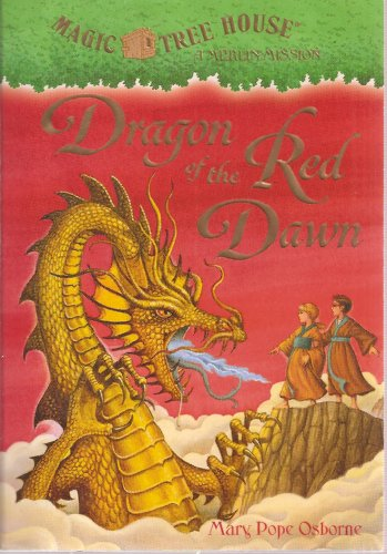 9780545085397: Dragon of the Red Dawn (Magic Tree House - A Merlin Mission) Edition: first