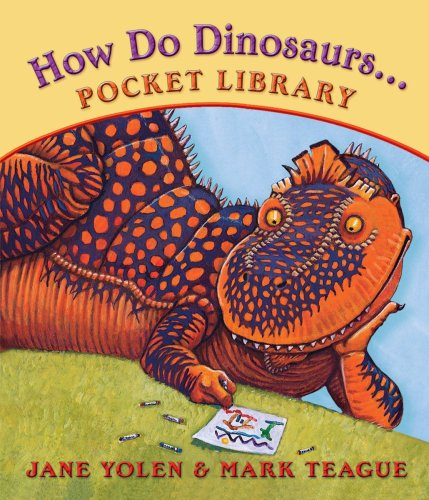 How Do Dinosaurs... Pocket Library (0545086159) by Scholastic; Jane Yolen