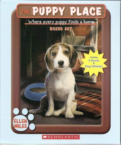 The Puppy Place Boxed Set, Books 6-10: Flash, Scout, Patches, Pugsley, and Maggie and Max (Includes Puppy Place Dog Whistle!) (0545086221) by Ellen Miles