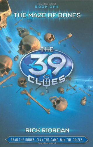9780545090544: The Maze of Bones (The 39 Clues, Book 1) - Library Edition