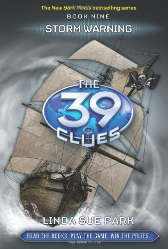 9780545090674: Storm Warning (The 39 Clues, Book 9) - Library Edition