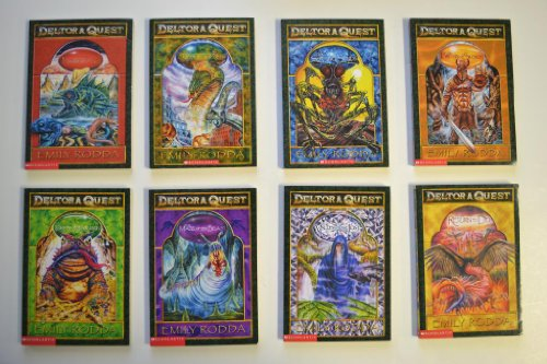 9780545098106: Deltora Quest Complete Boxed Set, Books 1-8: The Forests of Silence, The Lake of Tears, City of the Rats, The Shifting Sands, Dread Mountain, The Maze of the Beast, The Valley of the Lost, and Return to Del