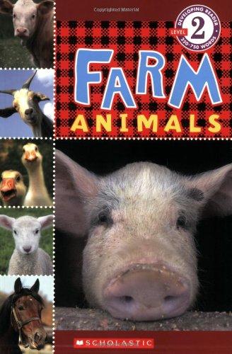 9780545099936: Scholastic Reader Level 2: Farm Animals