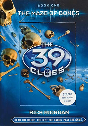 9780545100755: The 9 clues Them Maze Of Bones