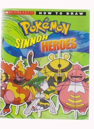 How to Draw Pokemon Sinnoh Heroes: Ron Zaime