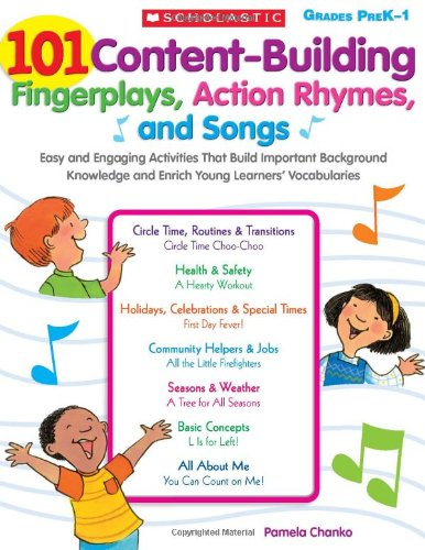 9780545102919: 101 Content-Building Fingerplays, Action Rhymes, and Songs, Grades Prek-1