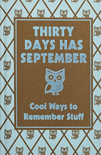 9780545107402: Thirty Days Has September: Cool Ways to Remember Stuff