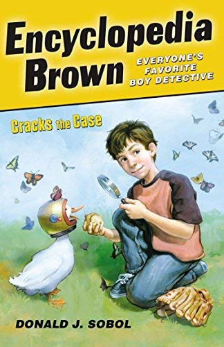9780545110211: Encyclopedia Brown Cracks the Case Publisher: Puffin; Reprint edition