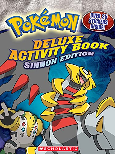 9780545112093: Deluxe Activity Book: Sinnoh Edition [With 25] (Pokemon)