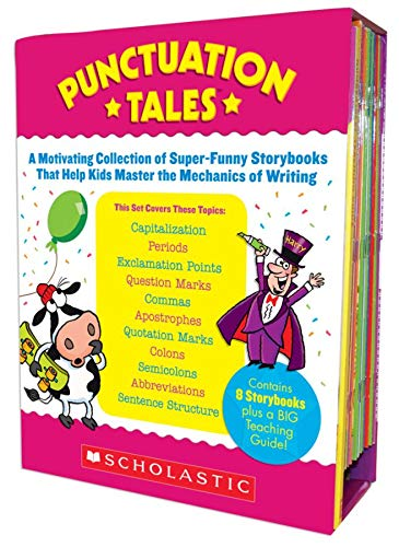 9780545114011: Punctuation Tales: A Motivating Collection of Super-Funny Storybooks That Help Kids Master the Mechanics of Writing