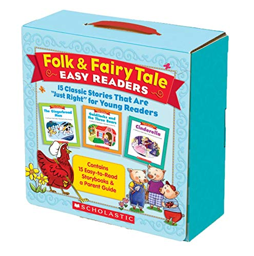 9780545114035: Folk & Fairy Tale Easy Readers: 15 Classic Stories That Are