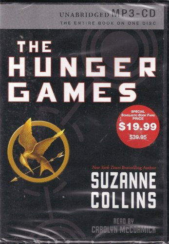 9780545114073: The Hunger Games by Suzanne Collins (unabridged MP3 - CD)