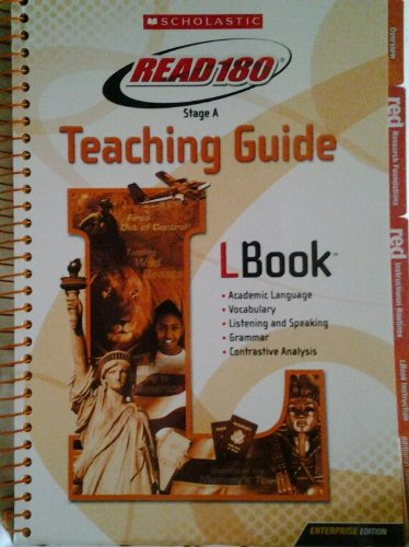 9780545114684: Read 180 Stage A Teaching Guide L Book (Read 180)
