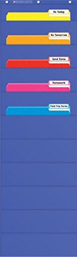 9780545114783: File Organizer Pocket Chart