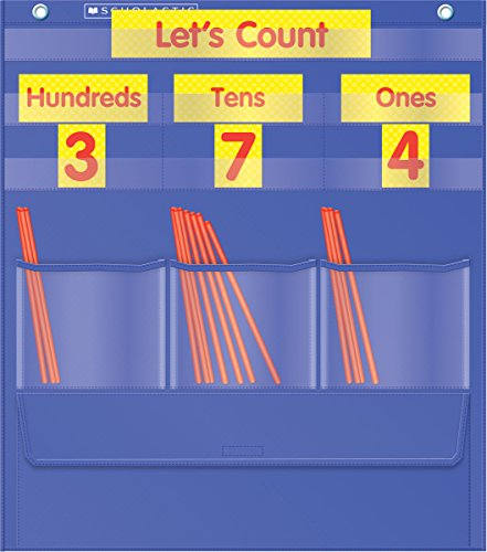 9780545114820: Counting Caddie & Place Value Pocket Chart