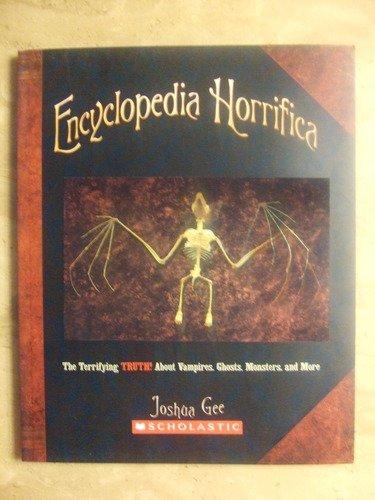 9780545115117: Encyclopedia Horrifica