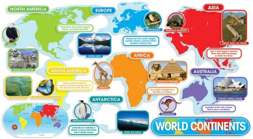 9780545118392: World Continents Bulletin Board