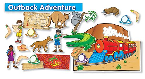 9780545118446: Outback Adventure Bulletin Board