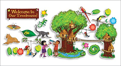 9780545118453: Jungle Treehouse Bulletin Board