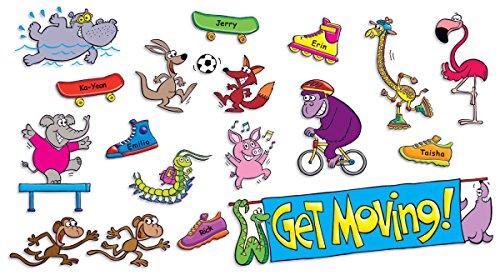 9780545118835: Get Moving Mini Bulletin Board