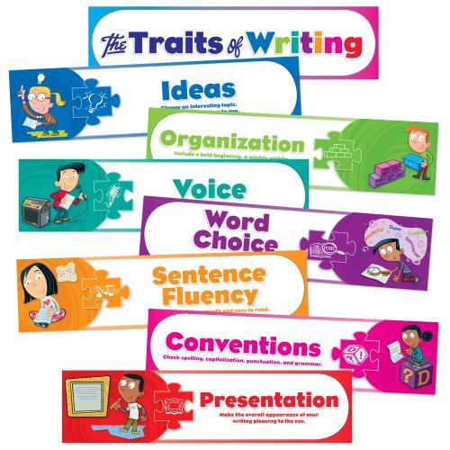 9780545118859: Traits of Writing Mini Bulletin Board
