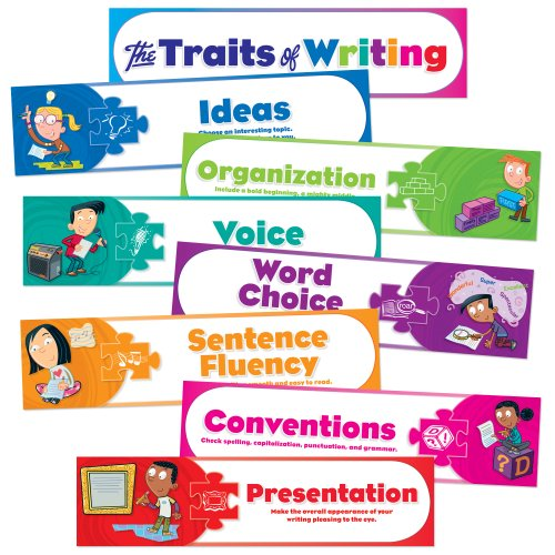 61 traits of writing ideas 6 traits of writing--smekens education original 6-traits icons look like the writing done in later years, there are still plenty of details (ideas), organization,.